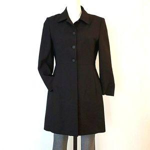 F Carriere Long Black Jacket